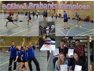 BCEhv-1 brabants kampioen 3e kl reg